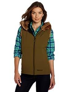 Marmot Women's Furlong Vest, Dark Olive, X-Small