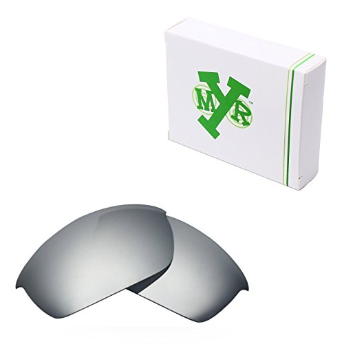 Mryok Polarized Replacement Lenses for Oakley Flak Jacket - Silver - Jacket Polarized Flak Lenses