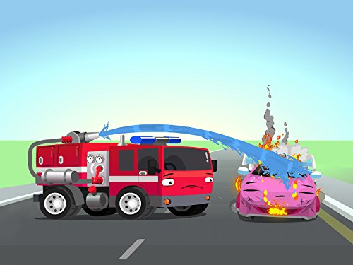 (Tow Truck Hook and Fire Truck Red)