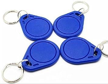 Amazon.com: 10 piezas UID etiquetas clave 13,56 mhz RFID UID ...