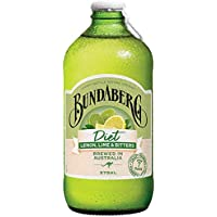 Bundaberg Diet Lemon Lime & Bitters, 12 x 375 ml, Lemon Lime
