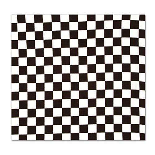 Checkered Flag Bandanna Racing Bandana Daytona Indy -