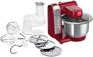 Bosch MUM48R1 Robot da Cucina 600 W, Rosso