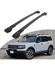 Roof Rack Cross Bars fit for Ford Bronco Sport 2020 2021 Aluminum Top Rails Carrier Bag Luggage Kayak Canoe Bike Snowboard Skiboard(Not fit for Badlands Model)