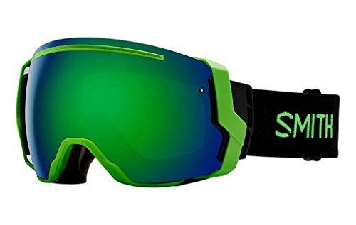 Price comparison product image Smith Optics I/O 7 Adult Snowmobile Goggles Reactor / Green Sol-x Mirror