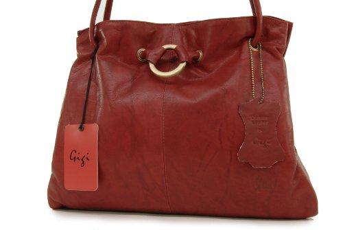 Bolso Cuero Rojo 4323 GIGI de OTHELLO hombro E0qHZWEx6w