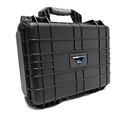 Tough and Secure Projector Hard Case by CASEMATIX - For VIEWSONIC PA502S/PA503S/PA503X/PJD6551W/PJD7720HD/PJD7831HDL/PJD7836HDL/PJD7326/PJD7526W