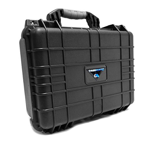 CASEMATIX Waterproof Mini Drone Carry Case with Customizable Foam - Protect Yuneec Breeze Drone and Camera and Keep Accessories Organized Such as Charger, Extra Batteries, ETC