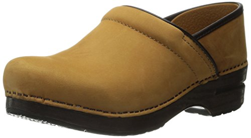 Dansko Women's Professional Mule, Wheat Nubuck, 42 M EU / 11.5-12 B(M) US by Dansko