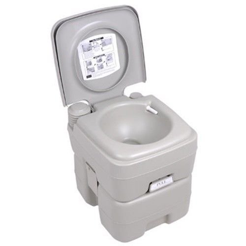 Porta Toilets Arab : Gallon portable toilet flush travel camping outdoor