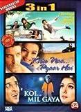 Zindagi na milegi dobara / Kaho naa pyaar Hai / Koi Mil Gaya (3 in 1 DVD Without Subtittle) by Hrithik Roshan