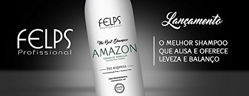 Felps Amazon The Best Shampoo Smooth Intense Hair 1000ml by Felps (Image #2)
