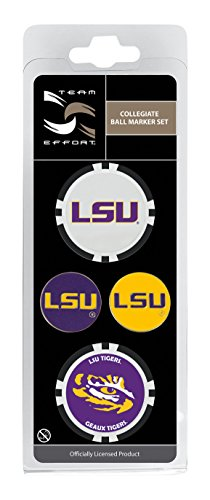 Team Effort LSU Tigers Ball Marker ()