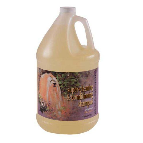 1 All Systems Super Cleaning and Conditioning Pet Shampoo, 1-Gallon