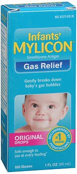 Mylicon Infants' Gas Relief Original Drops - 1 oz, Pack of 2 by Mylicon