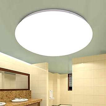Larsure Vintage Modern Deckenleuchten Alle weißen LED Acryl Decke ...