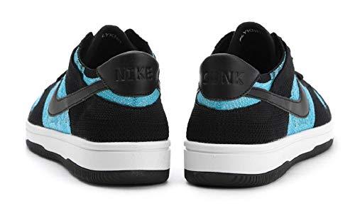 Uomo '' Scarpe Flyknit Basket Dunk Nike Nero S chlorine Blu Da Udqwx1UR5