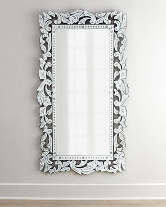 Buy Venetian Image Glass Decorative Wall Mirror Silver Online At Low Prices In India Amazon In
