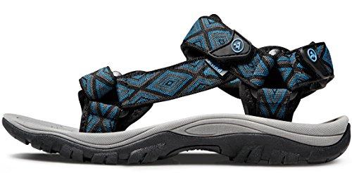 Atika Mens Sport Sandals Maya Trail Outdoor Water Shoes M110 /M111 (True to Size) AT M111-DBL uT5nZw0R