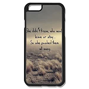 Alice7 Push Them Away Case For Iphone 6,Nerd Iphone 6 Case