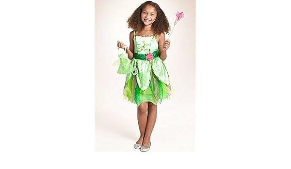 Disfraz de Campanilla de Disney con licencia oficial, para niñas ...
