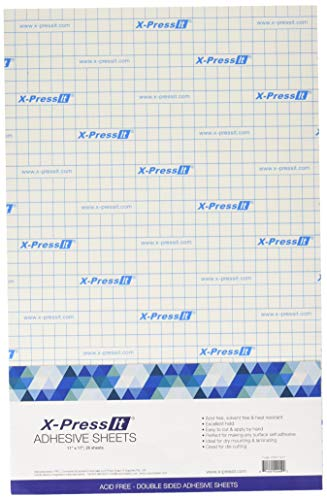 X-Press It Double Sided High Tack Sheets 11X17 25/Pk