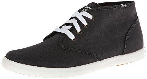 Keds Men's Champion Chukka Lace-Up Sneaker, Black, 12 M (Mens Keds)