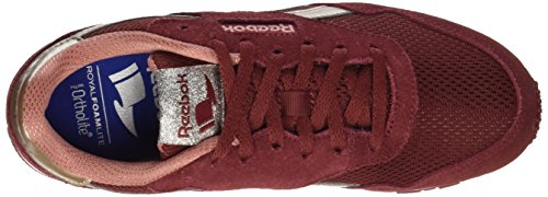 Met Maroon white cg Marron Gymnastique Rose De sleek Sl Chaussures Reebok sandy rugged Femme Royal Ultra BvCC7