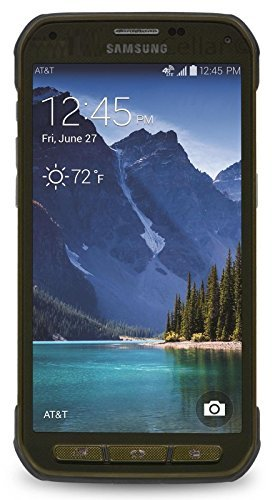 Samsung Galaxy S5 Active G870a 16GB Unlocked GSM Extremely Durable Smartphone w/ 16MP Camera - Camo Green
