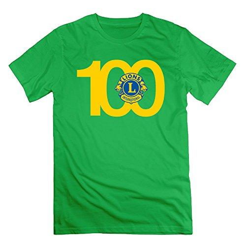 Lions Clubs International Logos ForestGreen Men's Sport T Shirt For Men Size M