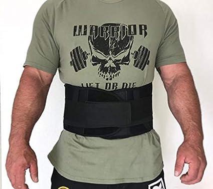 Ceinture Dorsale Musculation Warrior Powerlifting Gear Ceinture Lombaire N/éopr/ène 7mm