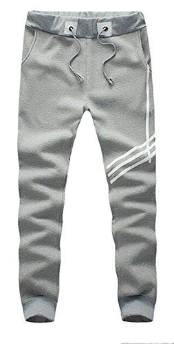 Orlando Johanson Hot sale Men's Leisure Plus Size Jogger Cotton Outdoor Slacks GreyUS 2X-Large Fashion