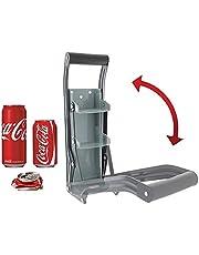 Yi-Yi Metal Can Crusher 16OZ Kitchen Bottle Opener, Can Presser-Recycling Tool