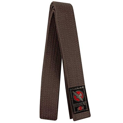 Hayabusa Cotton Karate Belt, Brown, 5