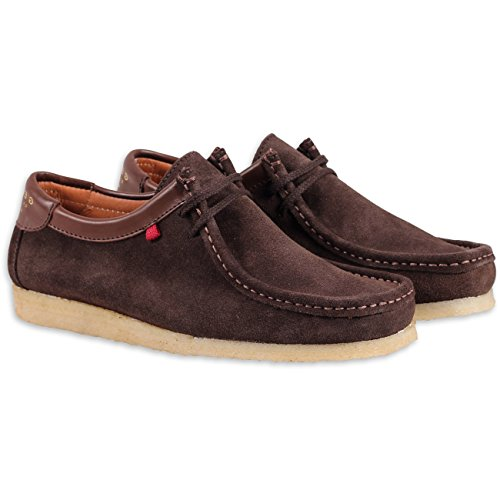 Djinns Genesis Low Suede Dark Brown Dark Brown