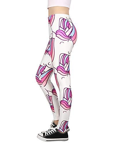 Unicorn Leggings for Women Fashion Bottoms Workout Yoga Pants