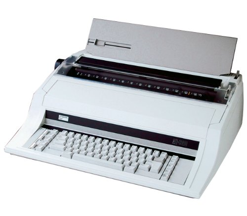 NAKAJIMA AE-800 Wide Carriage Electronic Typewriter, 17'' Wide Carriage, 22 cps Print Speed, 5 Line Correction Memory, 30 Position (Programmable) Tabulation Memory, Automatic Carrier Return by NAKAJIMA