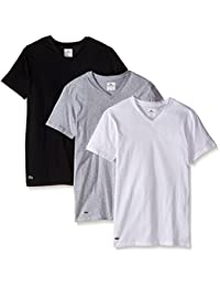 Mens 3-Pack Essentials Cotton V-Neck T-Shirt