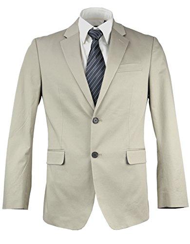 - Banana Republic Men's Standard-Fit Cotton Stretch Chino Blazer Brockton Beige 38R