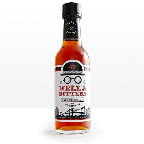 (Hella Cocktail Co. | Aromatic Bitters, 5 oz | Craft Cocktail Bitters for Classic Old Fashioned and Manhattan Cocktails|Perfect for Holiday Cocktail)
