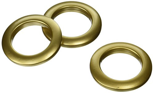 Dritz NR733 Curtain Grommets 8 Pack 19/16in 19/16Inch Brass