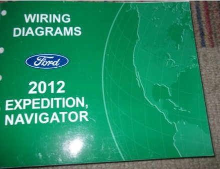 Download 2012 FORD EXPEDITION NAVIGATOR Electrical Wiring Diagram Service Shop Manual pdf