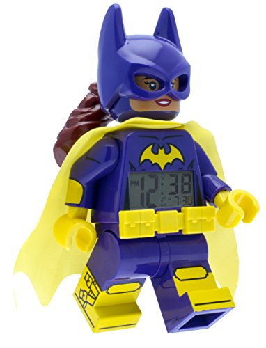 Clock Lego - LEGO 9009334 Batman Movie Batgirl Minifigure Light Up Alarm Clock