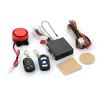 CARCHET® Alarma para Moto Impermeable con Dos Mando a distancia Anti-Robo