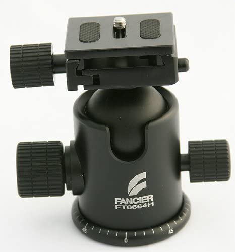 Fancierstudio 6664H Quick Release Tripod Grip Action Ball Head