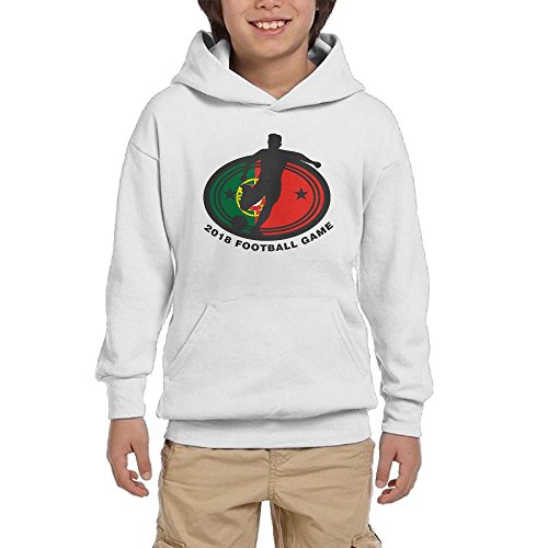 2018 Football Game Portugal Youth Unisex Hoodies Print Pullover Sweatshirts for cheap