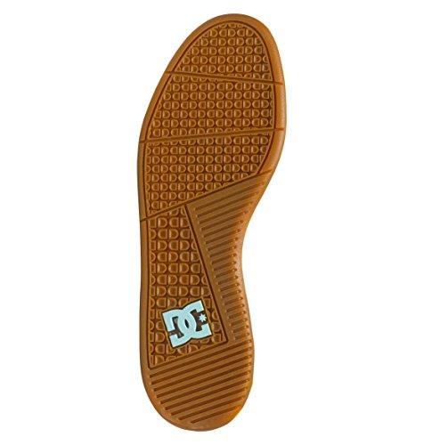 DC–para hombre Mikey Taylor 2S Low Top Zapatos Brown/Brown/Blue
