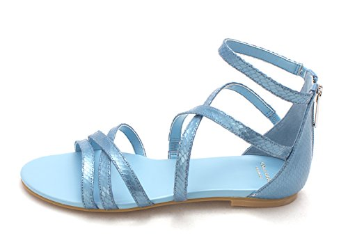 Cole Open Womens Casual Blue Haan Cornwall Strappy Toe Sandals 14A4110 tqratnwHp