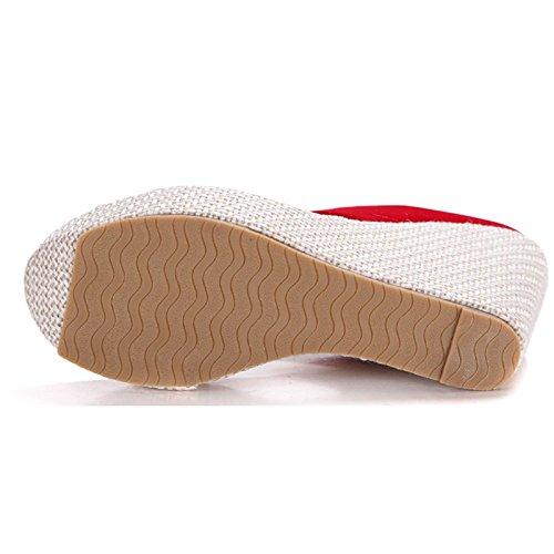 Donalworld Girl Beach Shoes T Strap Thick Sole Sandal Flip Flop Sandals Beige Gt7QV