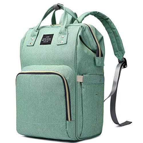 HaloVa Diaper Bag Multi-Function Waterproof Travel Backpack